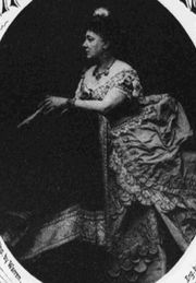 "Hermine Rudersdorff (1822–82), singer/composer, as seen on the cover of ""Rainy Day"" (pub.1873)"